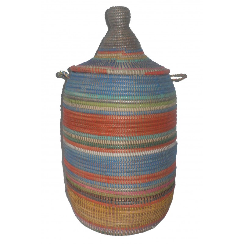 Panier Thies Africain multicolor