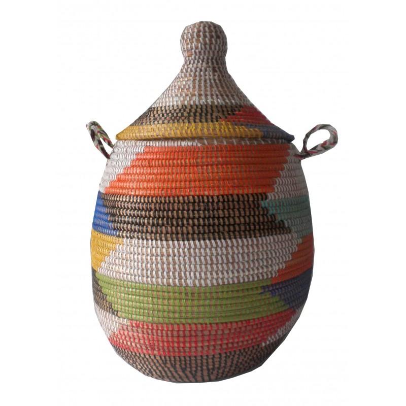 Panier Thies Africain multicolor