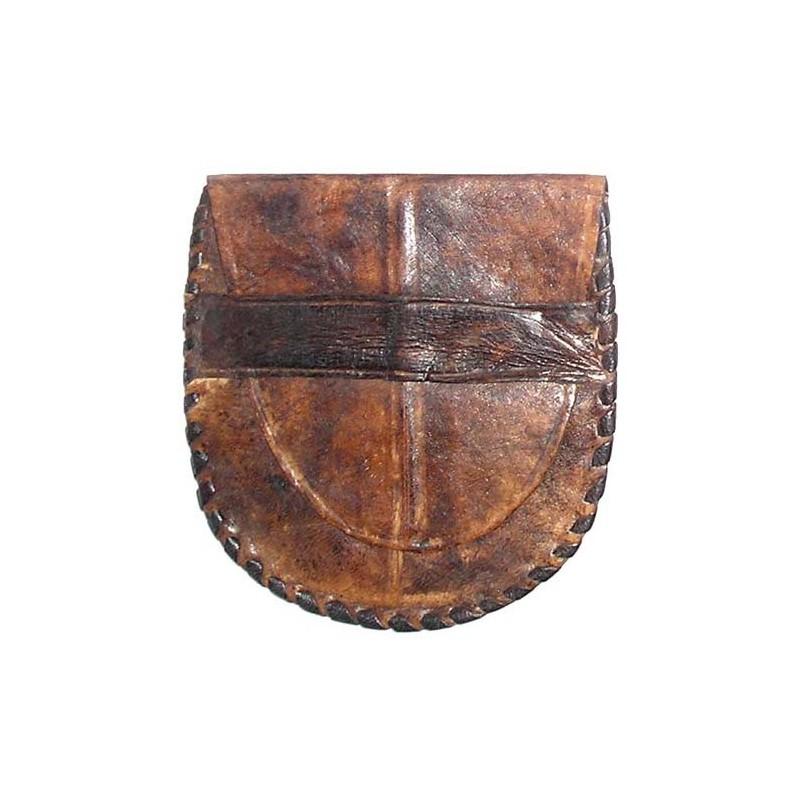 Bourse Touareg en cuir