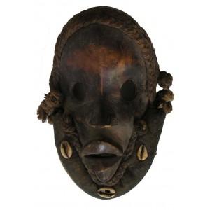 Masque Dan coureur Gunye Ge de Cote d Ivoire