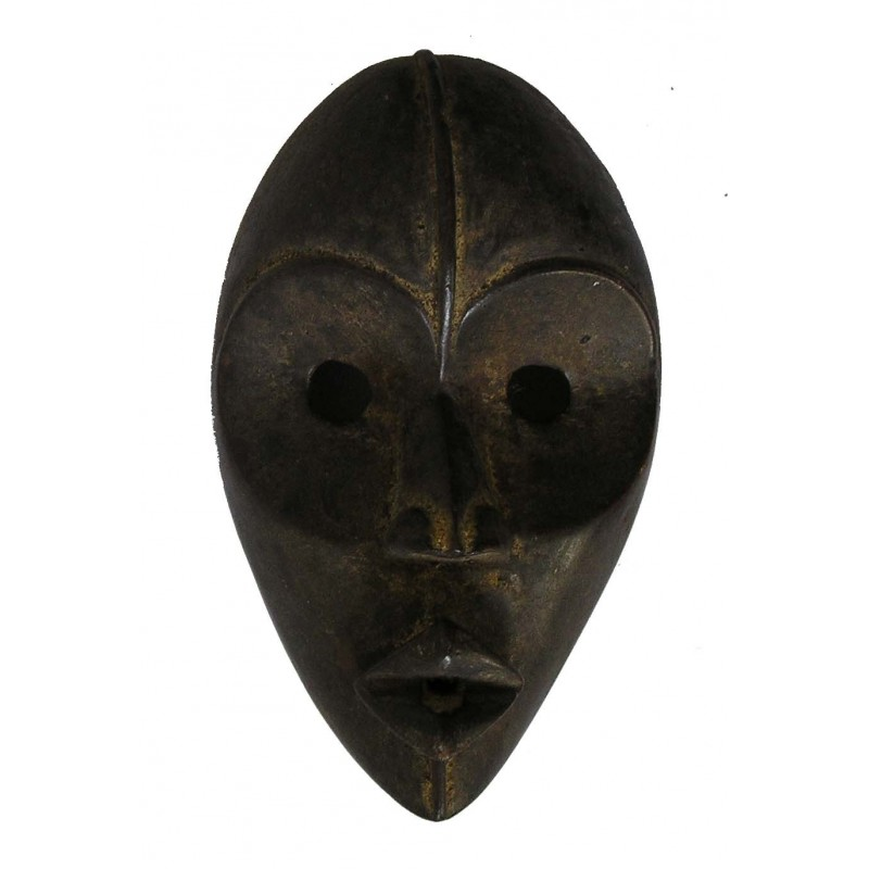 Ancien masque Dan coureur Gunye Ge de Cote d Ivoire