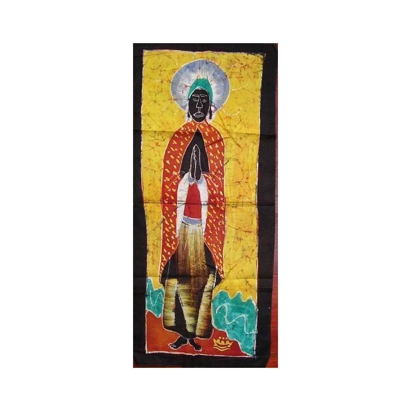 Batik de Cote d'Ivoire bande taille 2 saint homme