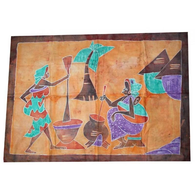 Batik de Cote d'Ivoire taille 2