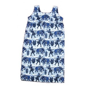 Robe enfant 7 ans Fancy-print 100% coton