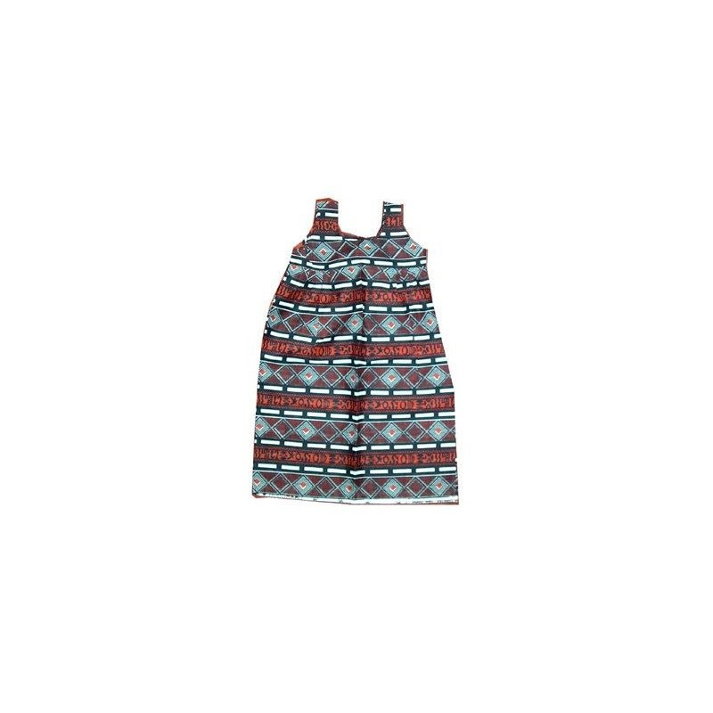 Robe enfant 3 ans Fancy-print 100% coton