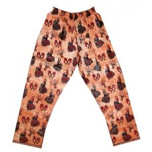 Pantalon fancy coton homme