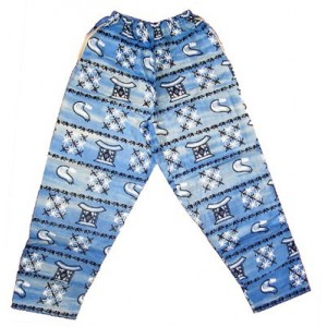 Pantalon fancy coton homme