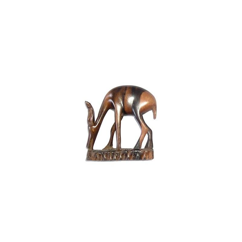 Gazelle en ébène