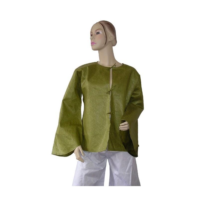 Veste femme d'été légère en coton bazin