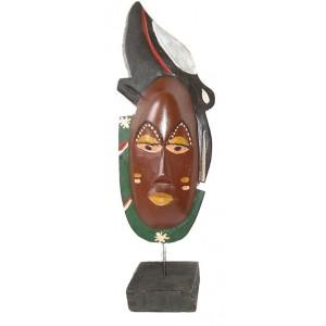 Masque pixie sur socle