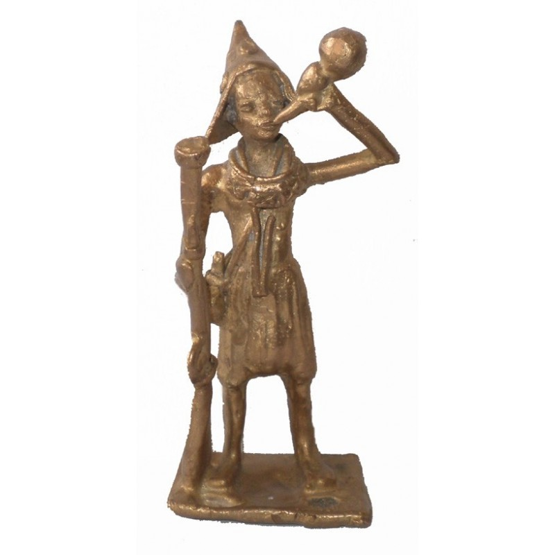 Guerrier Mandingue en bronze