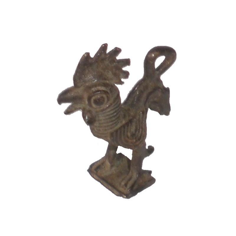 Poids pendentif Akan à peser l'or la grenouille