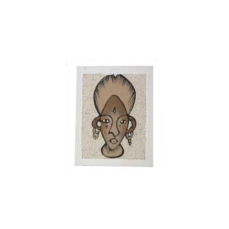 Tableau de sable portrait