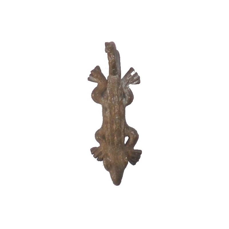 Poids Akan pendentif à peser l'or medaille amulette crocodile