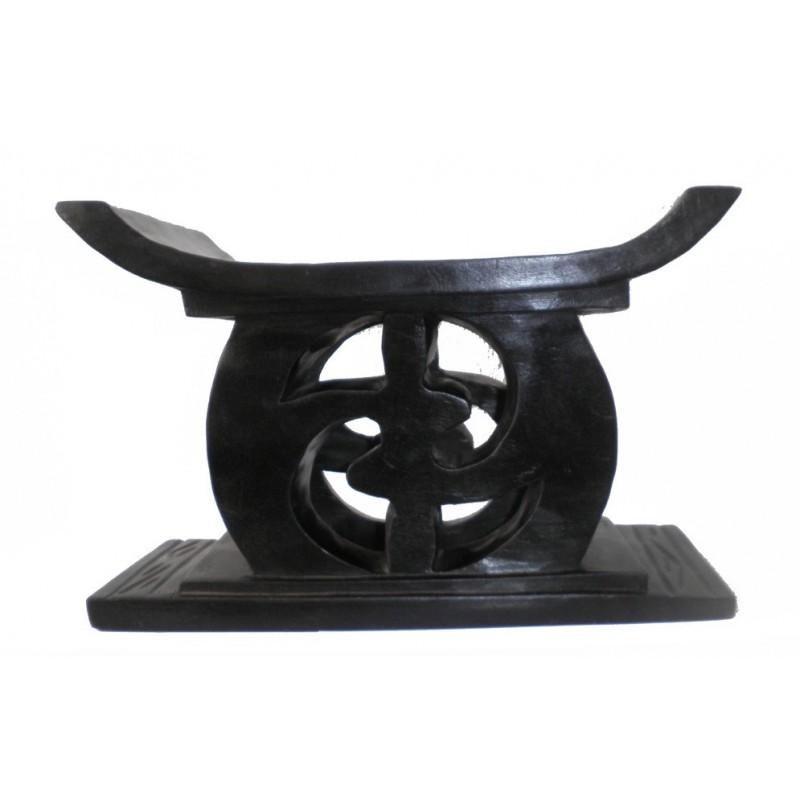 Tabouret appui-nuque en bois de style Akan ou Ashanti